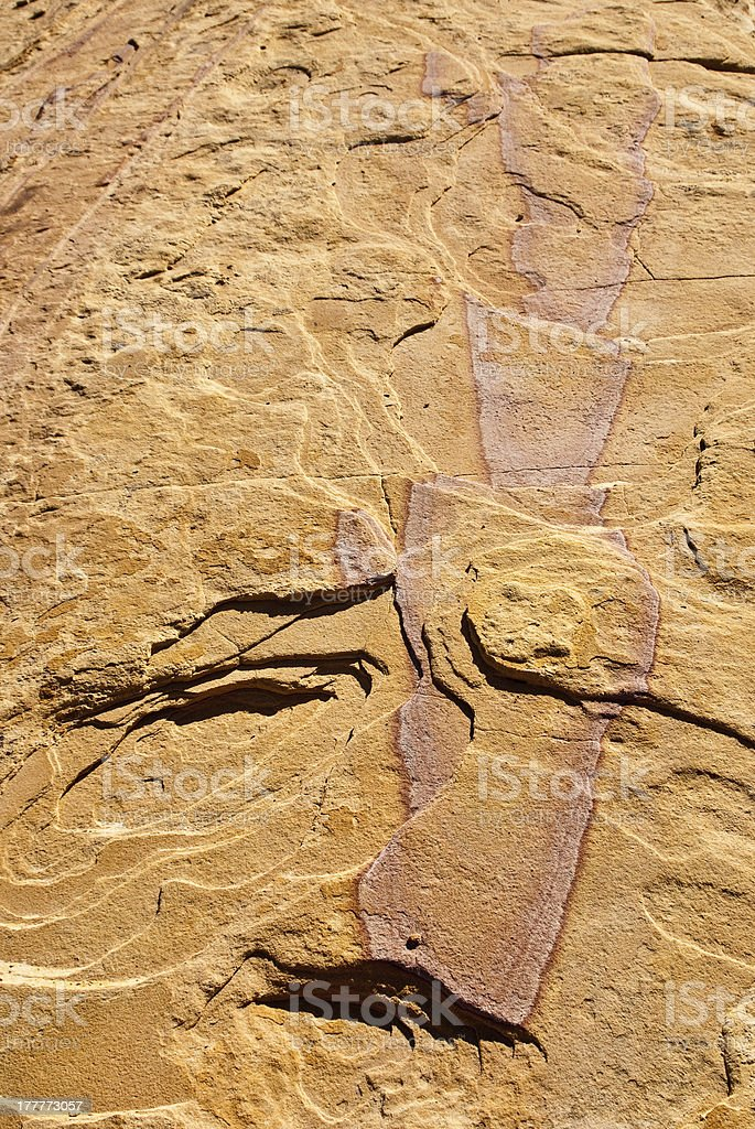 Sandstone Art royalty-free stock photo