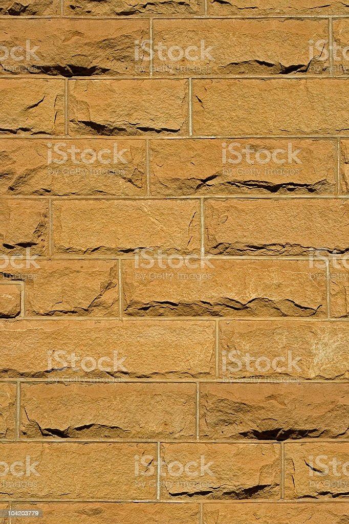 Sandstone brick background royalty-free stock photo