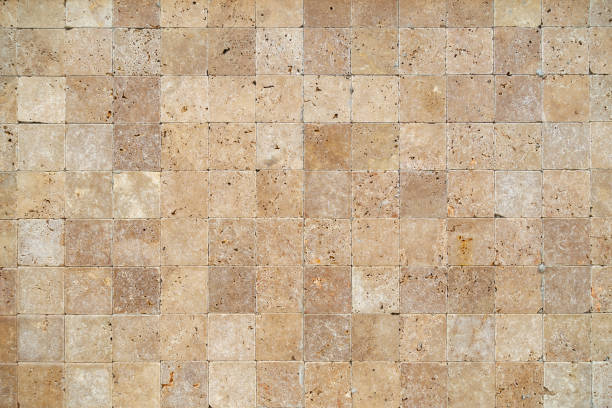 高解析度的砂岩磚牆紋理 - 大廈樓層 個照片及圖片檔