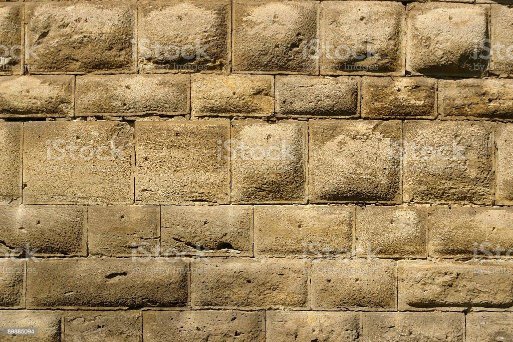 Ladrillos de arenisca foto de stock libre de derechos