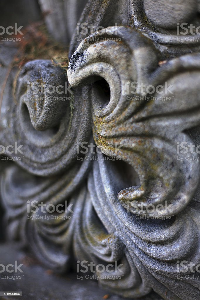 Sandstone Carving royalty-free stock photo