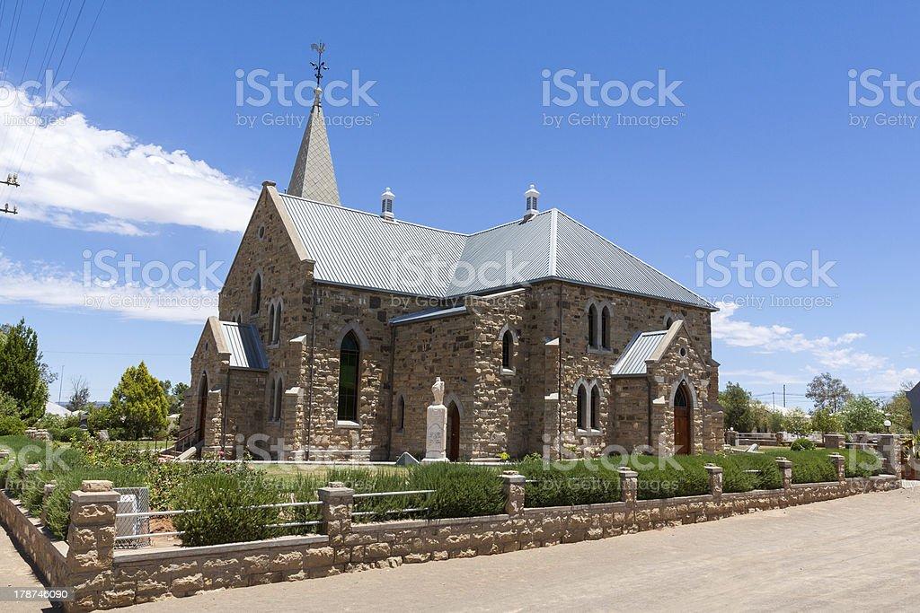 Sandstone Church stock photo