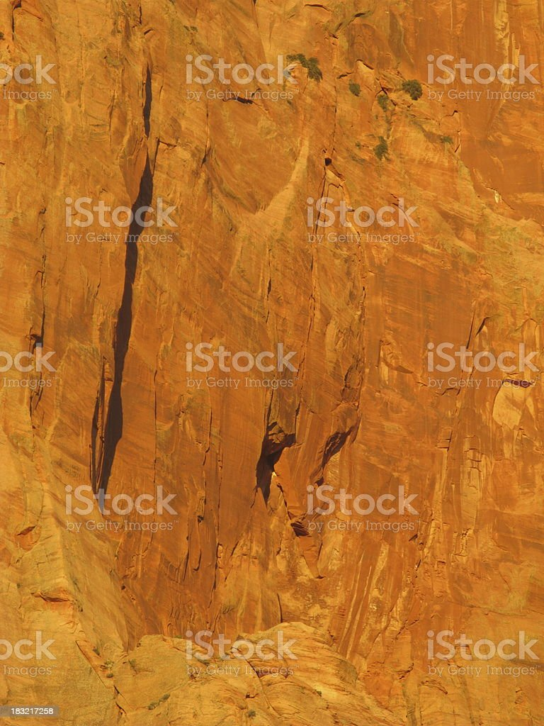 Sandstone Close Up Zion royalty-free stock photo