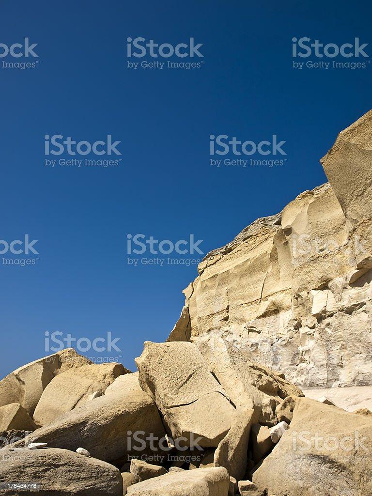 Sandstone Erosion royalty-free stock photo