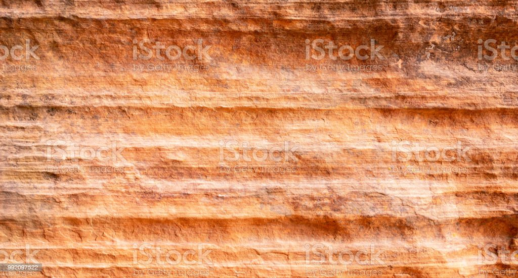 Sandstone erosion - rock layers royalty-free stock photo