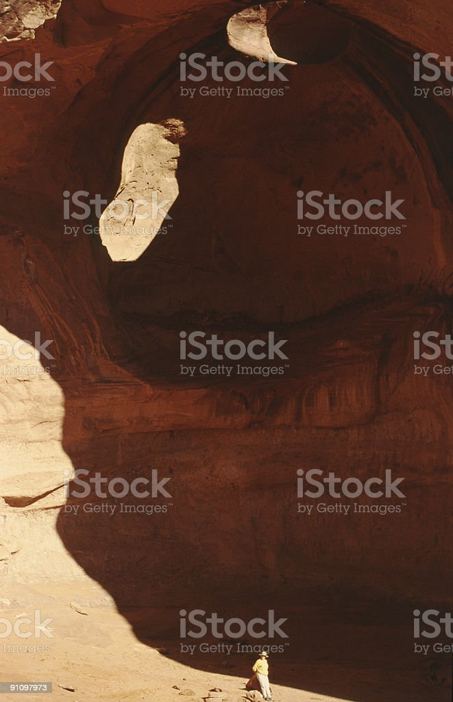 Sandstone formation in Monument Valley, Arizona royalty-free stock photo