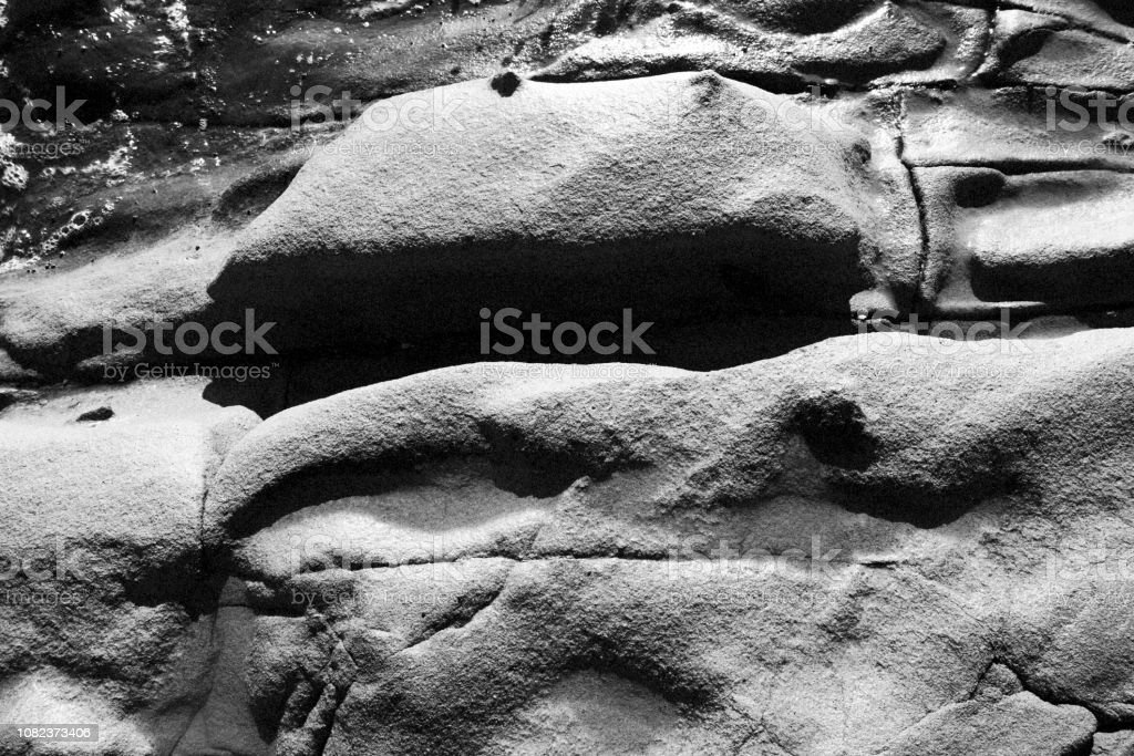 Sandstone formations stock photo