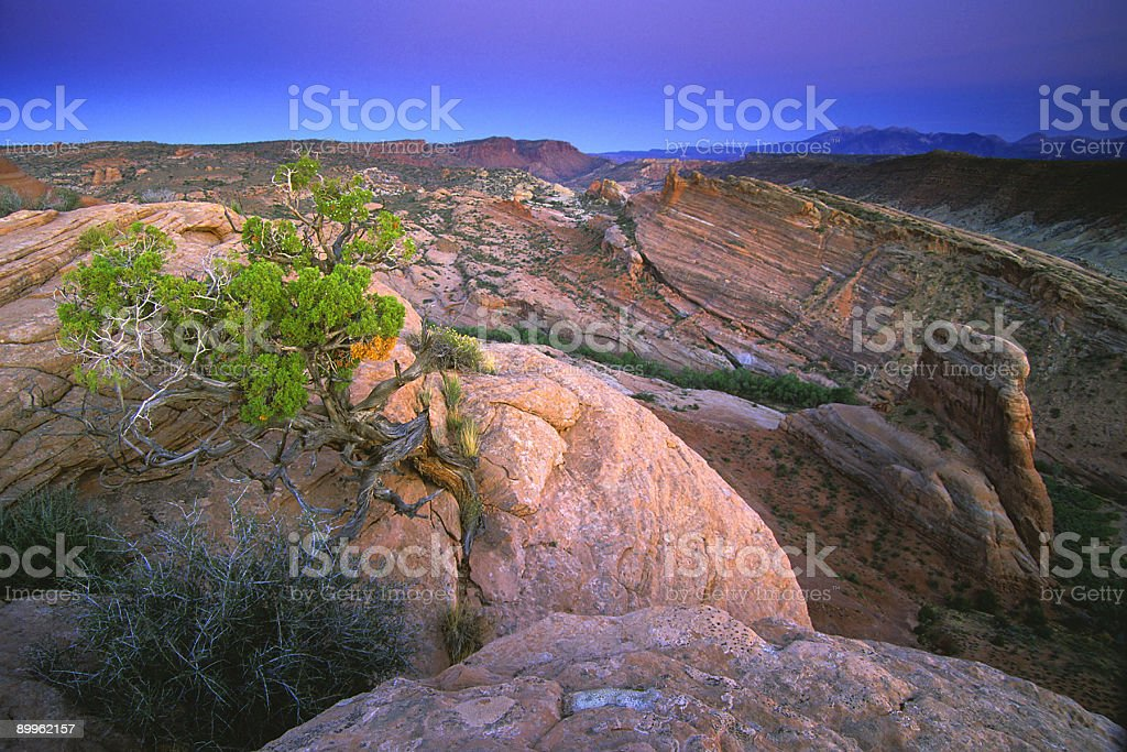 sandstone landscape royalty-free stock photo