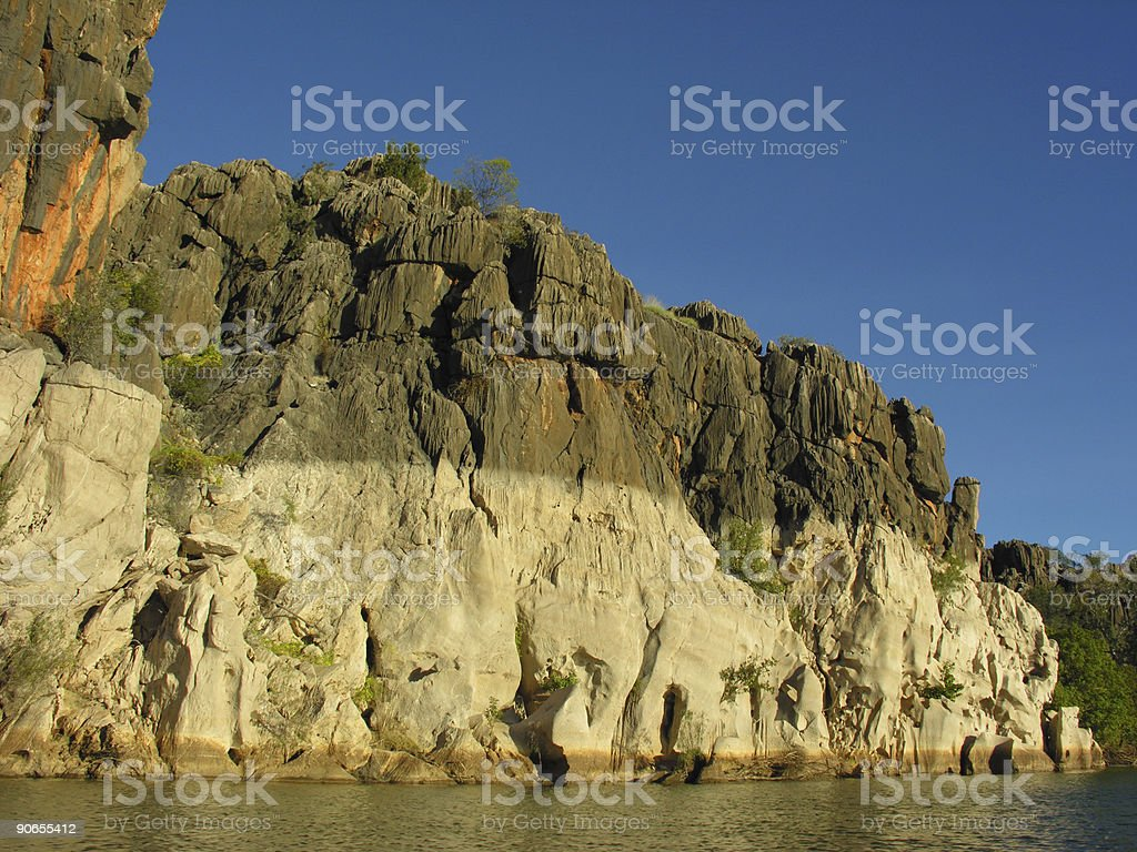 Sandstone river gorge royalty-free stock photo