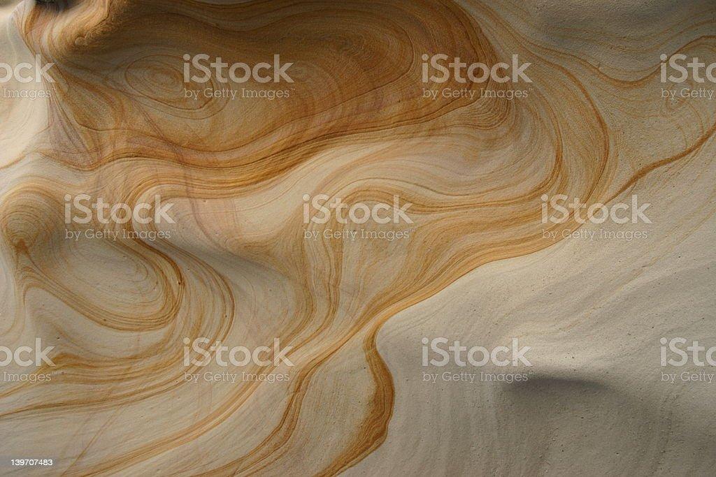 Sandstone Rock Pattern stock photo