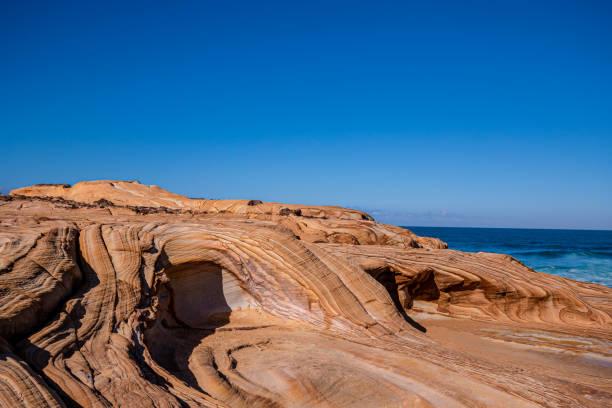 Sandstone Rock Patterns stock photo
