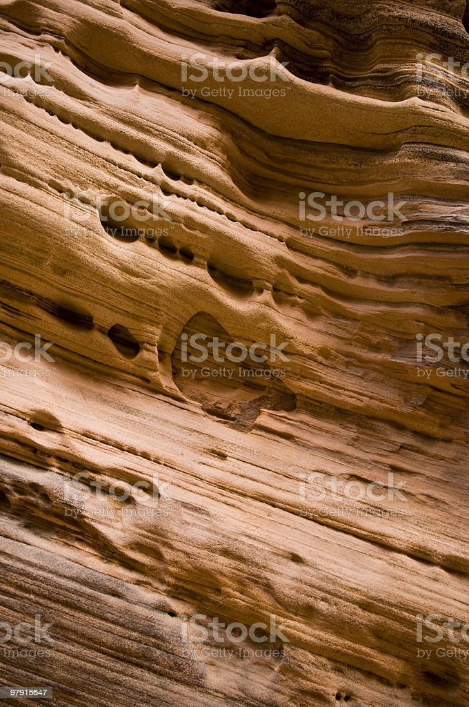 Sandstone Texture Background royalty-free stock photo