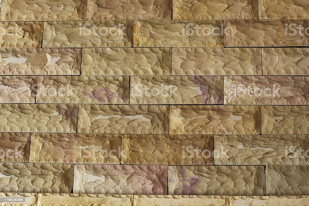 Sandstone tiles royalty-free stock photo