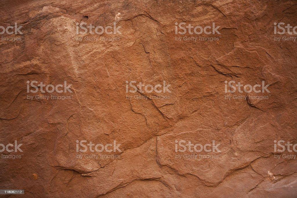 Sandstone Wall royalty-free stock photo