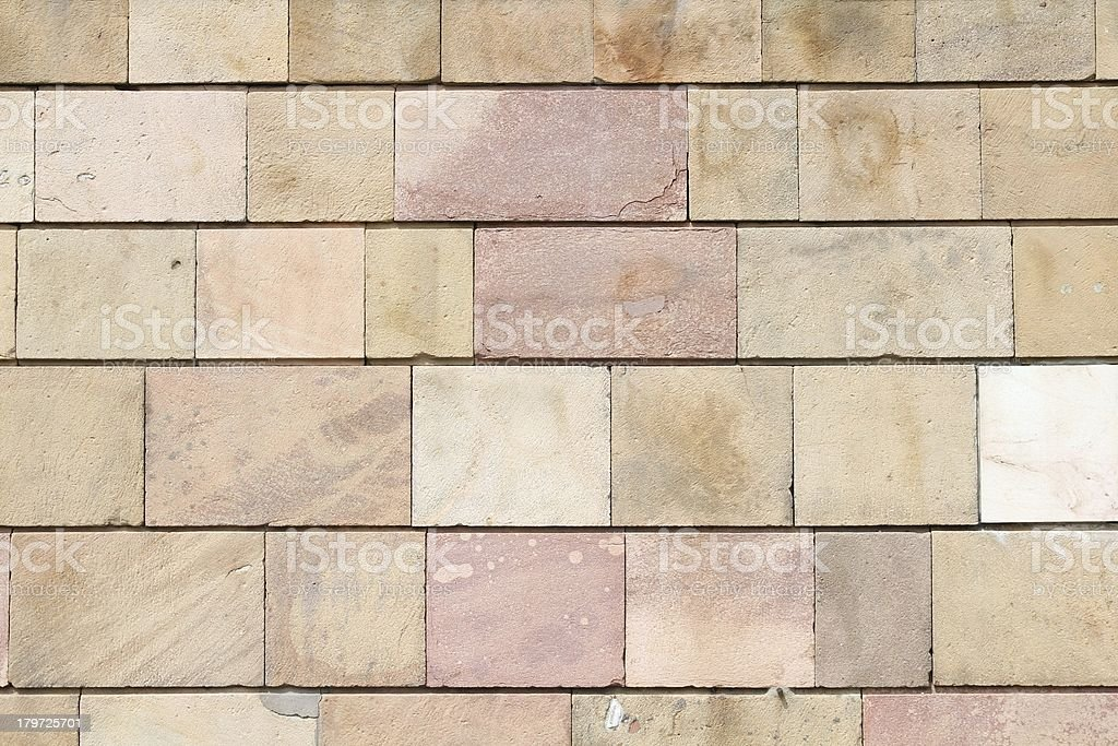 Sandstone wall royalty-free stock photo