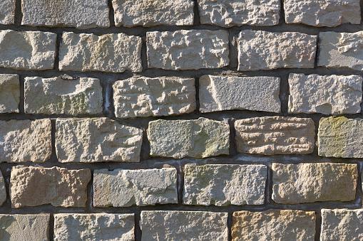 Sandstone Wall, Texture, Background, Shadows