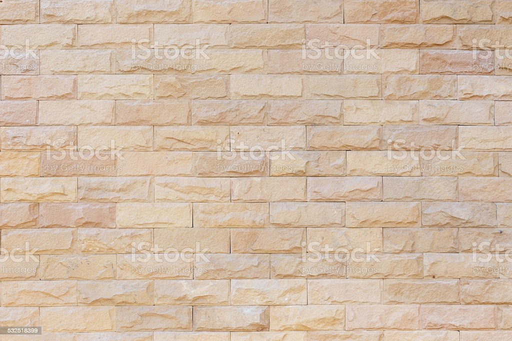 Sandstone wall texture for background stock photo