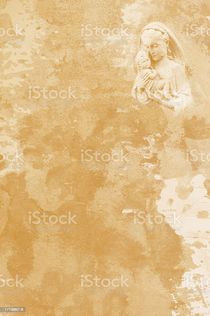 Sandstone Wall Vision stock photo