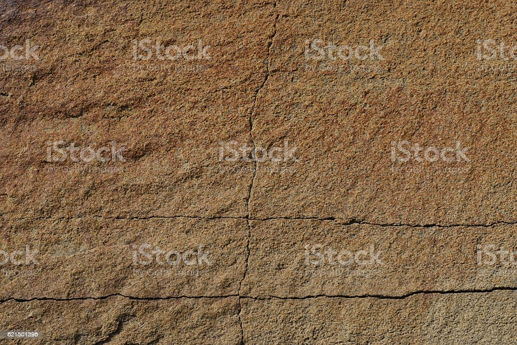 Sandstone with cracks. Texture. photo libre de droits