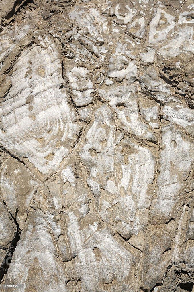 Sandstein mit Salz Lizenzfreies stock-foto