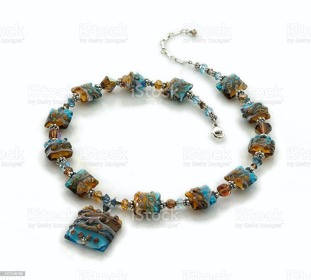 sand/surf necklace royalty-free stock photo