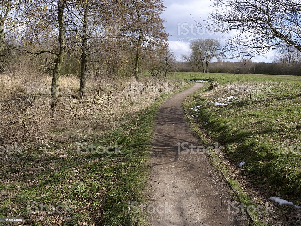 Sandwell RSPB reserve royalty-free stock photo
