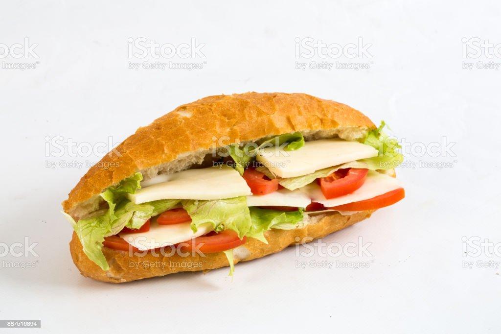 Sandwich bread stock photo