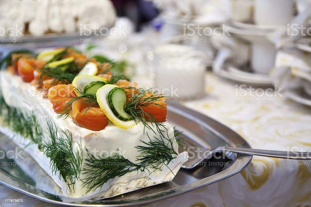 Sandwich-Kuchen – Foto