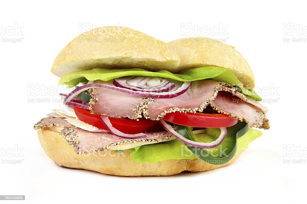 Sandwich Detail stock photo