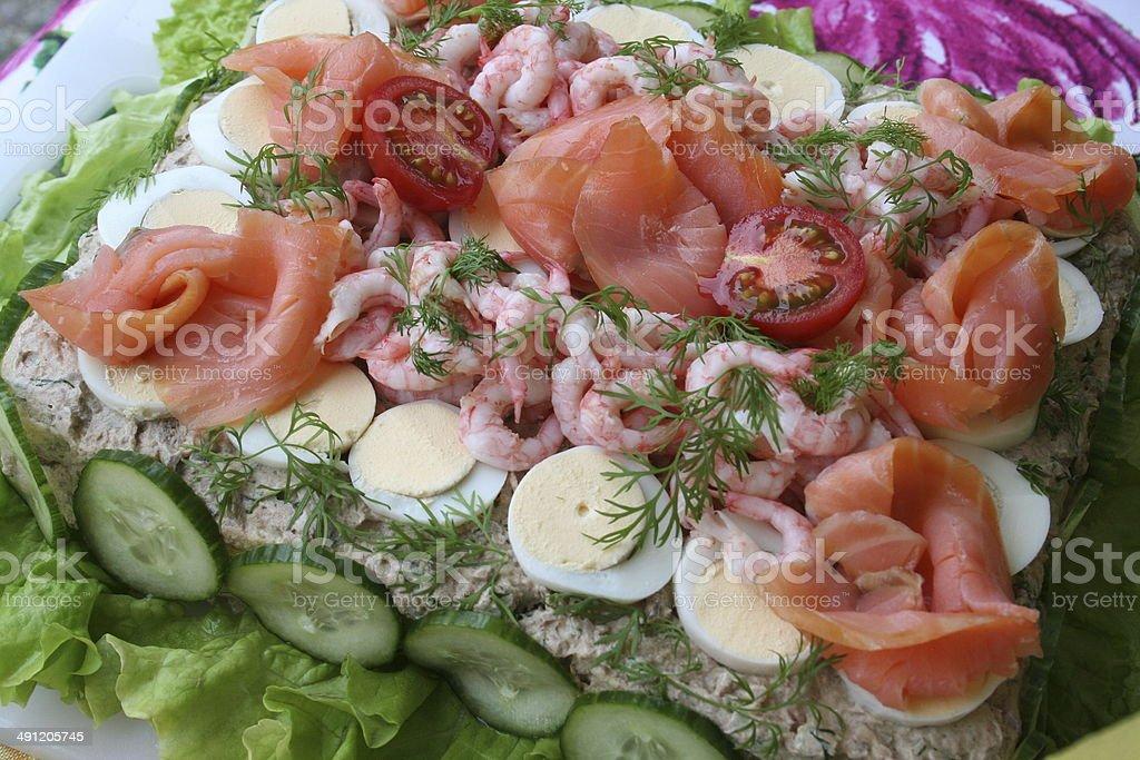Sandwich gateau stock photo