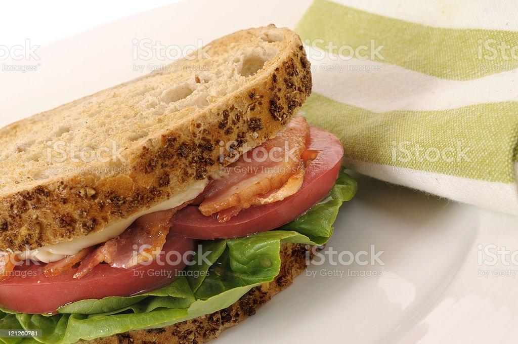 BLT sandwich royalty-free stock photo