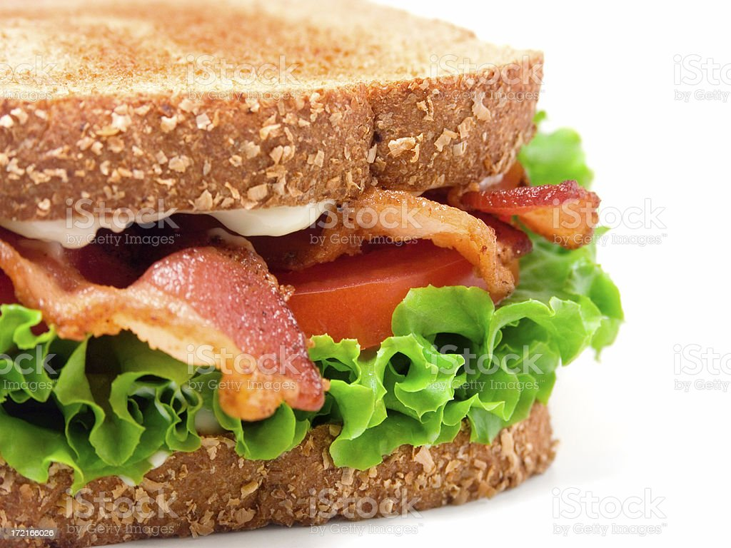 BLT Sandwich stock photo