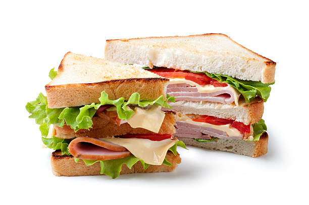 sandwich - club sandwich stock photos and pictures