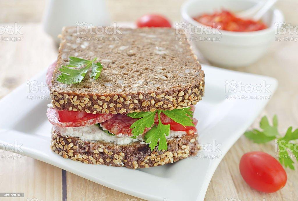 Sándwich - Foto de stock de Alimento libre de derechos