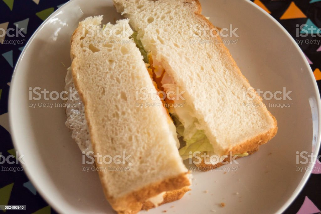 - Sandwich Lizenzfreies stock-foto