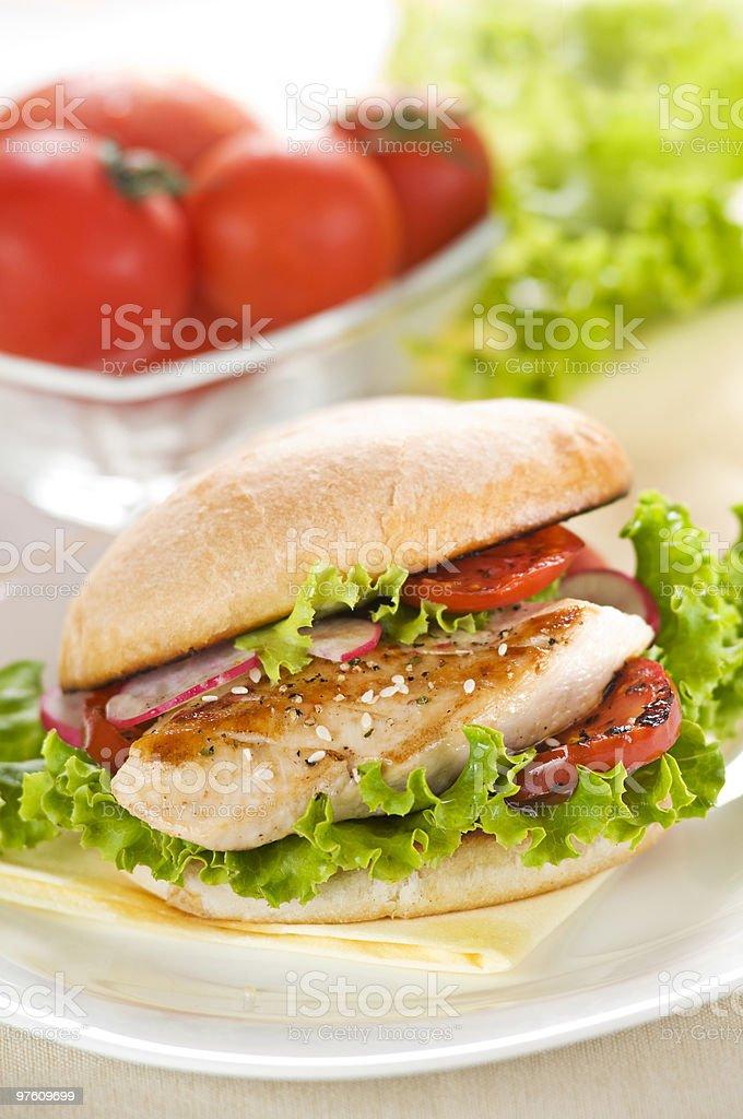 Sandwich royaltyfri bildbanksbilder