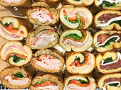 Overlooking variety of Sandwiches.