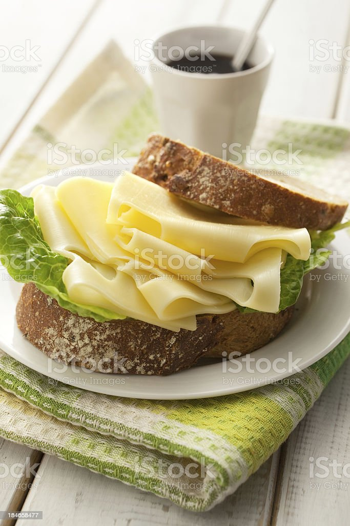Sandwich Stills: Cheese royalty-free stock photo