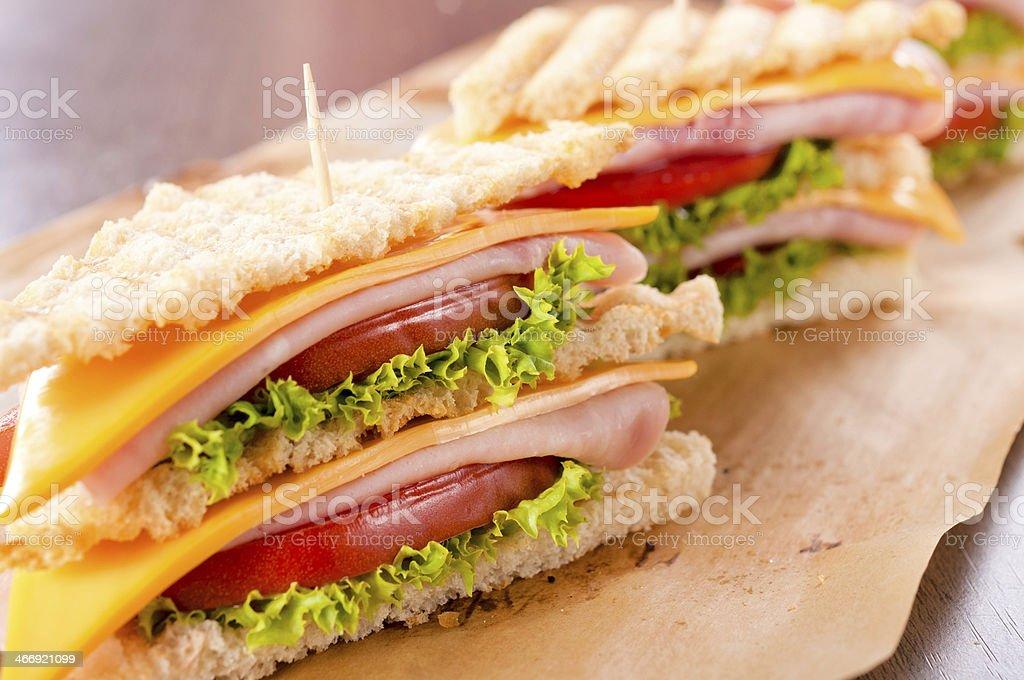 Sandwich time royalty-free stock photo