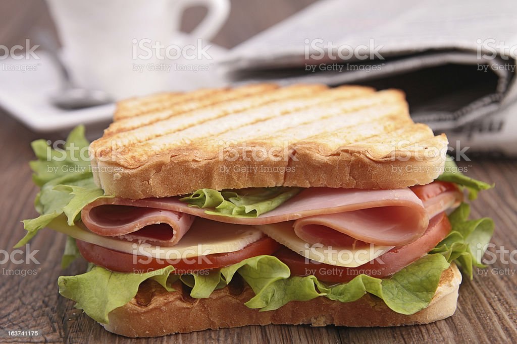 sandwich toast royalty-free stock photo