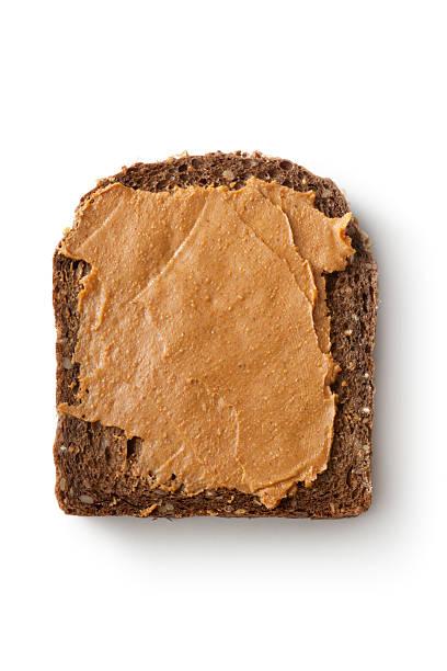 sandwiches: peanutbutter sandwich - peanutbutter bildbanksfoton och bilder