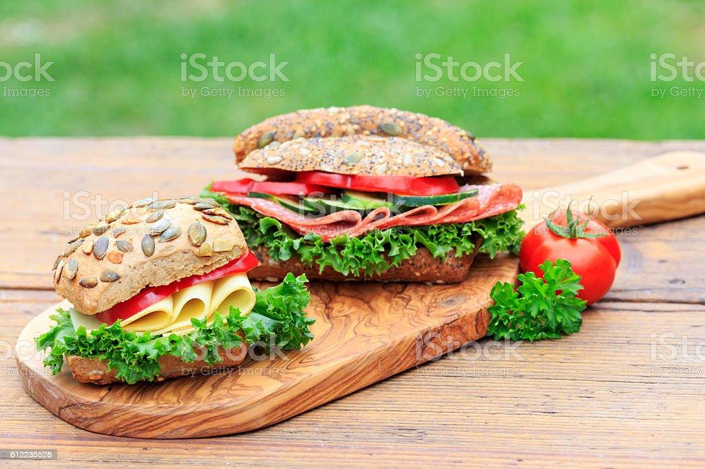 Sandwiches  – Foto