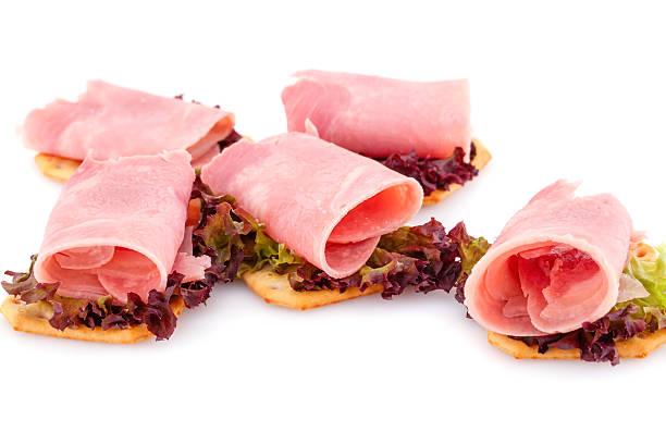 sandwiches  - kräuterfaltenbrot stock-fotos und bilder