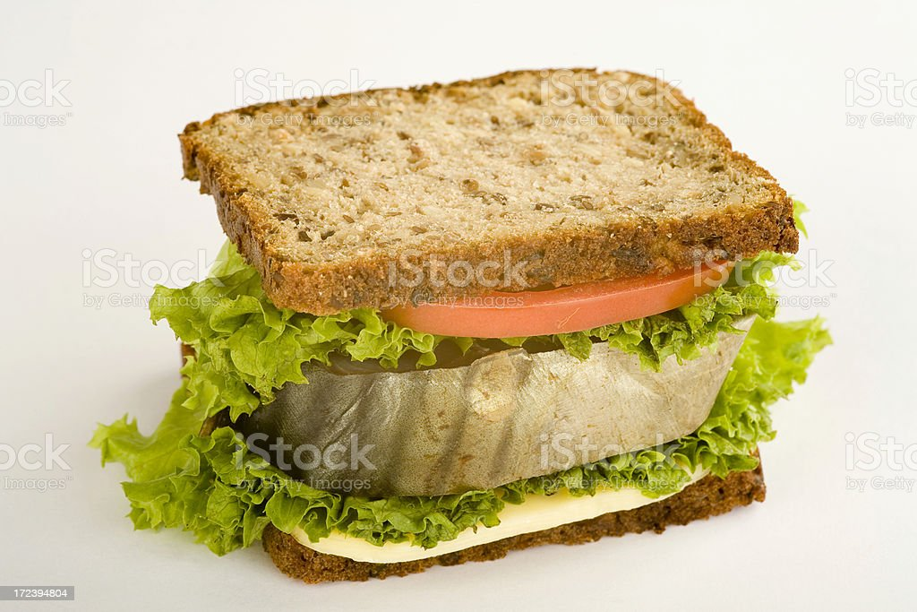 Sandwish with Fish royalty-free stock photo