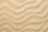 Sandy Background. Sand Beach Texture for Summer