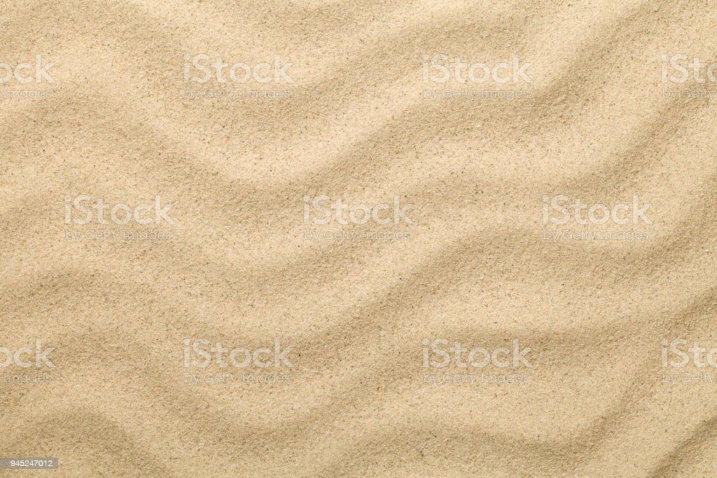 Sandy Background. Sand Beach Texture for Summer stock photo