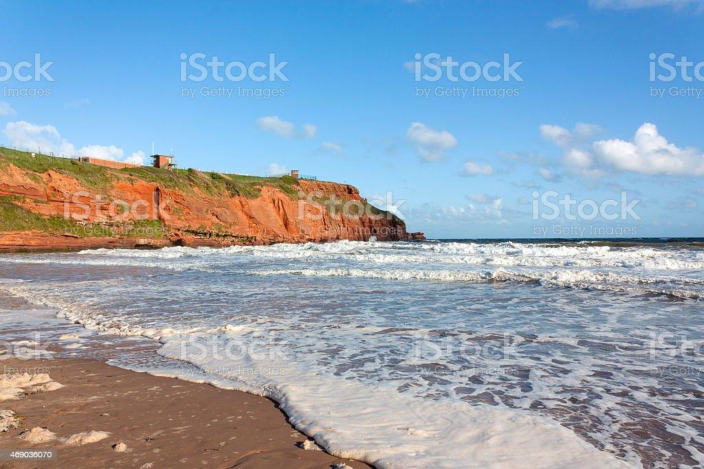 Sandy Bay Exmouth Devon stock photo