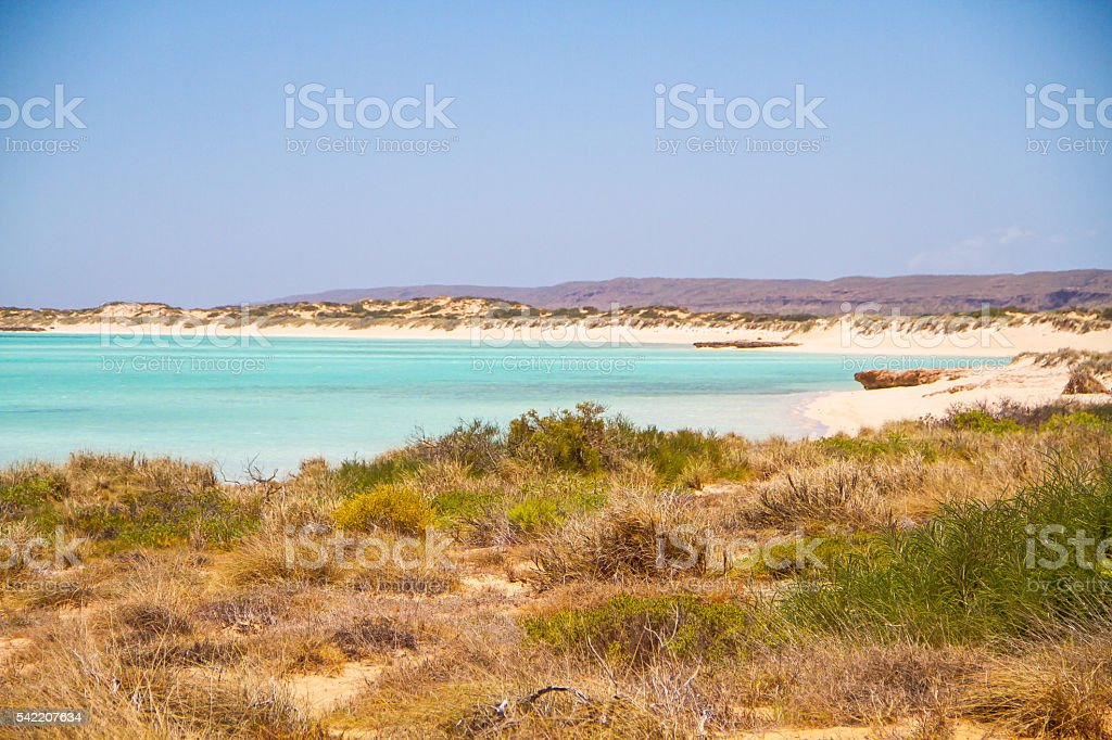 Sandy Bay, Exmouth, Western Australia stock photo