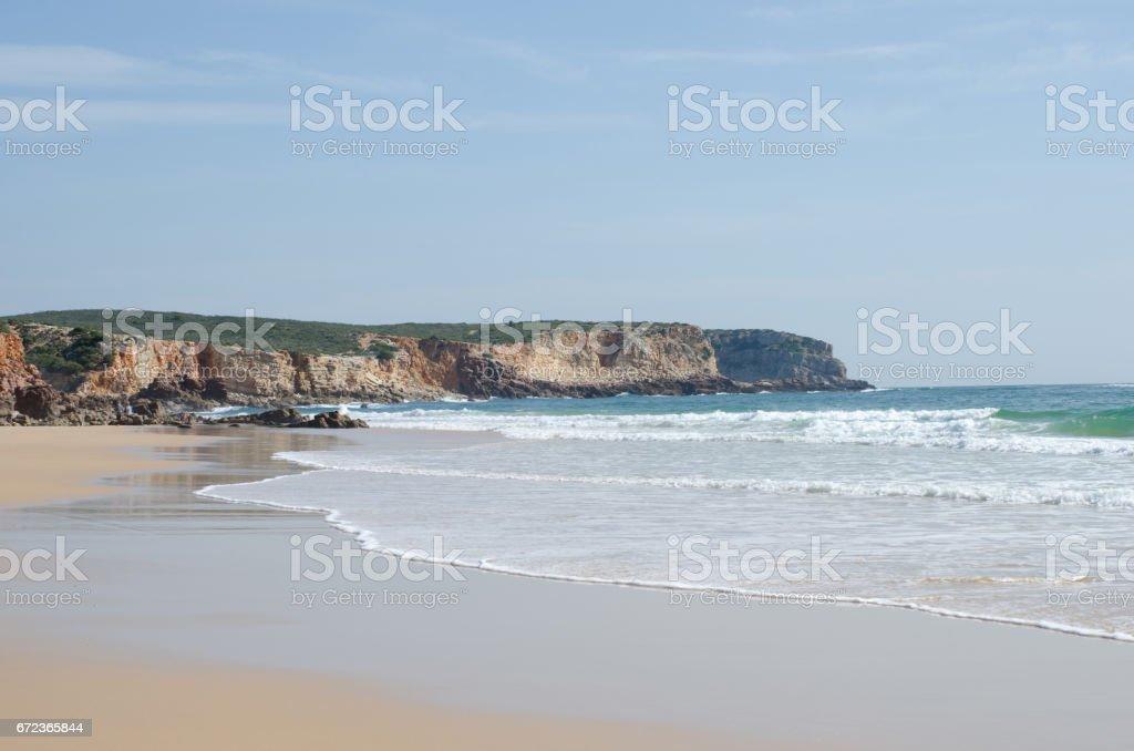 Sandstrand am Martinhal – Foto