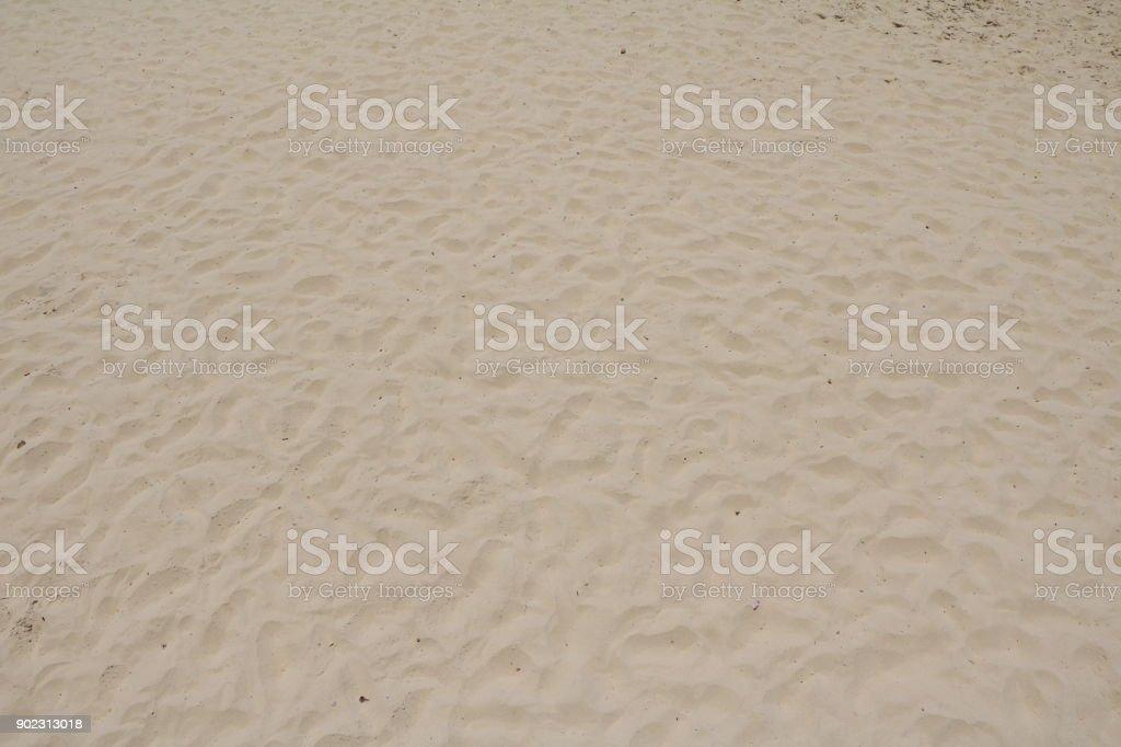 Sandy beach at Sunshine Coast, Queensland Australia stock photo